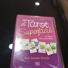 Libros de segunda mano: EL TAROT SUPERFÁCIL. ESTUCHE CON LIBRO MÁS 78 CARTAS. JOSÉ ANTONIO PORTELA. Lote 279504918
