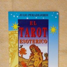 Libros de segunda mano: EL LIBRO DE TOTH O EL TAROT ESOTERICO. Lote 282950013
