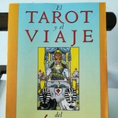 Libros de segunda mano: EL TAROT Y EL VIAJE DEL HÉROE. EL TAROT COMO CAMINO INICIÁTICO. / HAJO BANZHAF/ EDAF, 2001. Lote 284612478