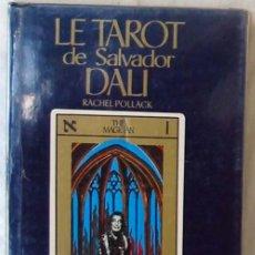 Libros de segunda mano: LE TAROT DE SALVADOR DALÍ - RACHEL POLLACK - VER INDICE Y DESCRIPCIÓN. Lote 287419553