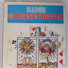 Libros de segunda mano: CARTES ET DESTIN - HADES - ED. FLAMMARION 1980 - VER DESCRIPCIÓN E INDICE. Lote 287454713