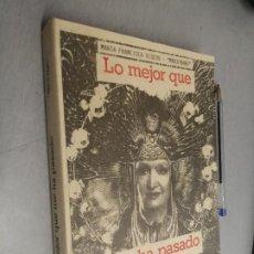 Libros de segunda mano: LO MEJOR QUE ME HA PASADO / MARÍA FRANCISCA VISEDO MARIFRANS / ENSEÑANZA DEL TAROT 1989. Lote 289214053