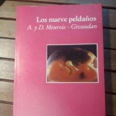 Libros de segunda mano: LOS NUEVE PELDAÑOS. A Y D MEUROIS GIVAUDAN. LUCIÉRNAGA PRIMERA EDICIÓN.. Lote 290113238