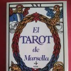 Libros de segunda mano: EL TAROT DE MARSELLA LA TABLA ESMERALDA ED EDAF. Lote 293524313