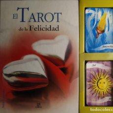 Libros de segunda mano: EL TAROT DE LA FELICIDAD BELEN FERNANDEZ INCLUYE CARTAS JUEGO. Lote 293979308