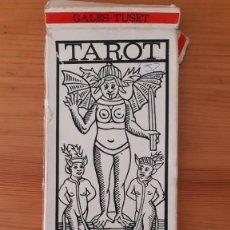 Libros de segunda mano: TAROT - GALES / TUSET. Lote 295292503