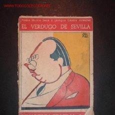 Libros de segunda mano: EL VERDUGO DE SEVILLA,AÑO III,NUM 40.BIBLIOTECA TEATRAL. Lote 8189830