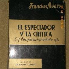 Libros de segunda mano: EL TEATRO EN ESPAÑA EN 1967.. Lote 24945951
