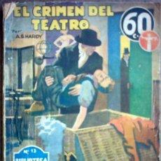 Libros de segunda mano: EL CRIMEN DEL TEATRO. Lote 24976784