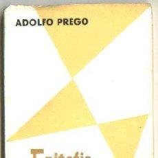Libros de segunda mano: EPITAFIO PARA UN SOÑADOR, ADOLFO PREGO. TEATRO. EDITORA NACIONAL. Lote 27407839