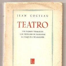 Libros de segunda mano: TEATRO .- JEAN COCTEAU. Lote 25506935