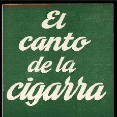 Libros de segunda mano: COLECCION TEATRO Nº274-EL CANTO DE LA CIGARRA DE ALFONSO PASO,AÑO1971. Lote 8225537