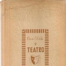Libros de segunda mano: TEATRO / O. WILDE.1 ED. TRAD.CRISTOBAL DE CASTRO Y JULIO GOMEZ DE LA SERNA.MADRID : B. NUEVA, [1945]. Lote 25614215