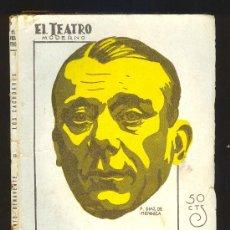 Libros de segunda mano: EL TEATRO MODERNO. LOS CACHORROS POR JACINTO BENAVENTE. PRENSA MODERNA, MADRID 1929. AÑO V Nº 204. Lote 14971363