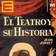 Livres d'occasion: ENCICLOPEDIA POPULAR ILUSTRADA. SERIE M Nº35. EL TEATRO Y SU HISTORIA A-MINI-143. Lote 8418631