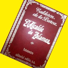 Libros de segunda mano: CALDERON DE LA BARCA. EL ALCALDE DE ZALAMEA. FOTO TEATRO. FOTONOVELA. 1973. . ENVIO 6,3 €. Lote 113261948