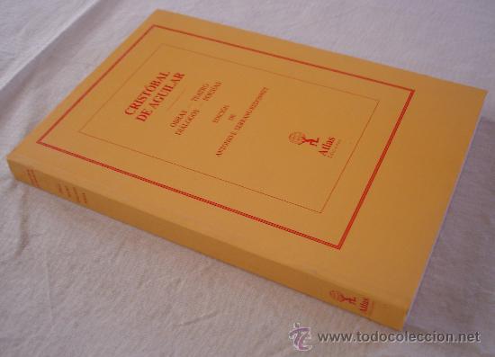 Libros de segunda mano: Cristobal de aguilar, anexo - Foto 2 - 25150404