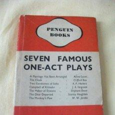 Libros de segunda mano: SEVEN FAMOUS ONE ACT PLAYS AÑO -1939 !!!! -. Lote 27268577