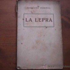 Libros de segunda mano: LA LEPRA, SANTIAGO RUSIÑOL, ANTONI LOPEZ EDITOR, SIN DATAR (CATALAN). Lote 17853858