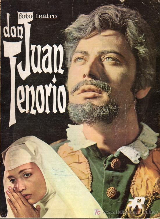 FOTO TEATRO - DON JUAN TENORIO - 1968 (Libros de Segunda Mano (posteriores a 1936) - Literatura - Teatro)