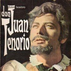 Libros de segunda mano: FOTO TEATRO - DON JUAN TENORIO - 1968. Lote 25111174