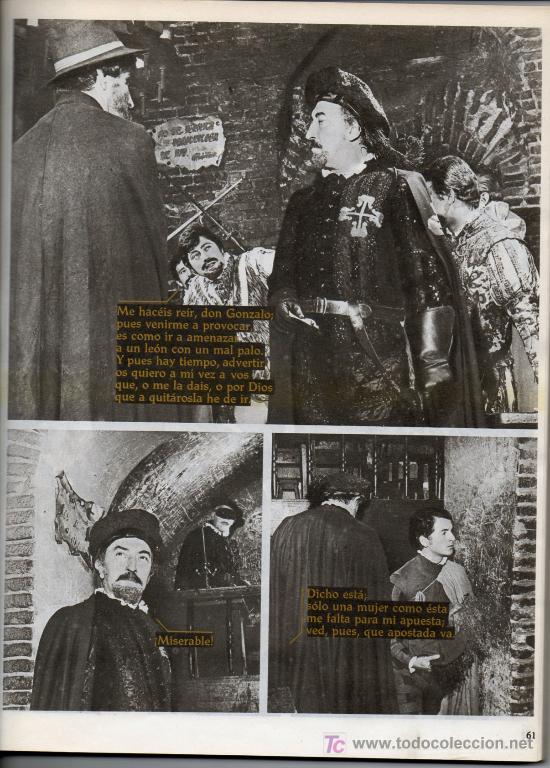 Libros de segunda mano: FOTO TEATRO - DON JUAN TENORIO - 1968 - Foto 2 - 25111174