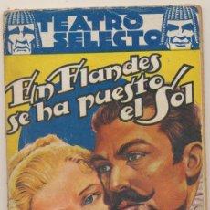 Libros de segunda mano: EN FLANDES SE HA PUESTO EL SOL. EDUARDO MARQUINA. EDITORIAL CISNE 1941.. Lote 179380945