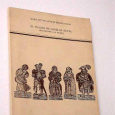 Libros de segunda mano: EL TEATRO DE JAIME DE HUETE. MARÍA DE LOS ÁNGELES ERRAZU COLÁS. ARAGÓN. TEATRO.. Lote 24446068