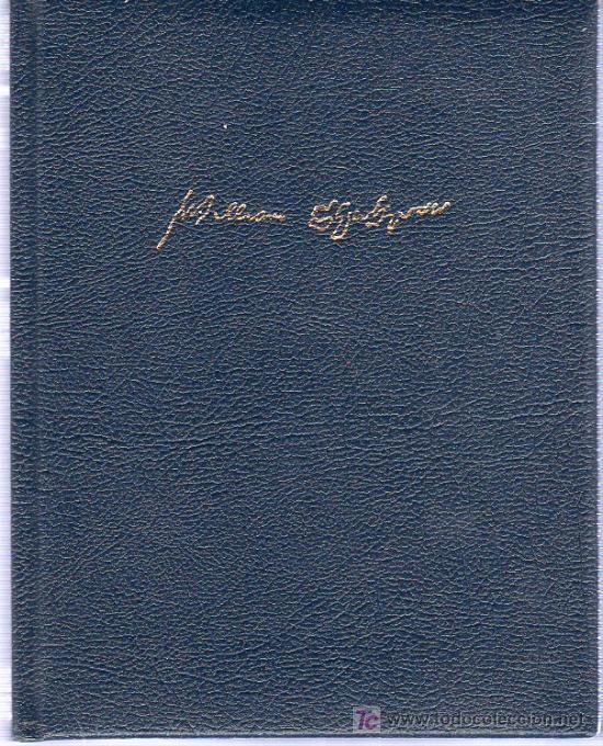 WILLIAM SHAKESPEARE. OBRAS COMPLETAS. TRAGEDIAS. 2003. 20 X 16 CM. 1071 PAGINAS. (Libros de Segunda Mano (posteriores a 1936) - Literatura - Teatro)