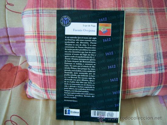 Libros de segunda mano: LOPE DE VEGA Fuente Ovejuna - Foto 2 - 26483116