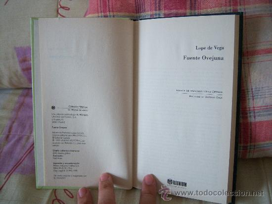 Libros de segunda mano: LOPE DE VEGA Fuente Ovejuna - Foto 3 - 26483116