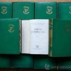 Libros de segunda mano: OBRAS COMPLETAS. CON UNA NOTA PRELIMINAR DEL AUTOR. BENAVENTE (JACINTO). Lote 21783828