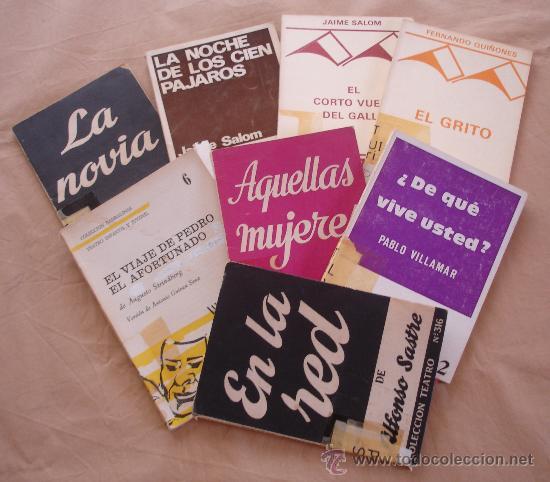 LOTE DE 8 OBRAS DE TEATRO. (Libros de Segunda Mano (posteriores a 1936) - Literatura - Teatro)