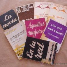Libros de segunda mano: LOTE DE 8 OBRAS DE TEATRO.. Lote 21825605