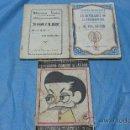Libros de segunda mano: ANTIGUOS LIBROS DE COMEDIA Y ROMANCES JACINTO BENAVENTE, ENRIQUE JARDIEL PONCELA, BENJAMIN BENTURA. Lote 26456866