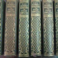 Libros de segunda mano: OBRAS COMPLETAS DE SERAFÍN Y JOAQUÍN ÁLVAREZ QUINTERO (6 VOLÚMENES). 1947-49. ESPASA-CALPE. Lote 23069238