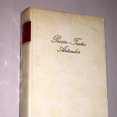 Libros de segunda mano: FEDERICO GARCÍA LORCA. POESÍA, TEATRO, ARTÍCULOS. YERMA, MARIANA PINEDA, BERNARDA ALBA. ROMANCERO.. Lote 27621776