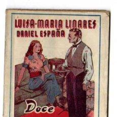 Libros de segunda mano: COLECCION LA ESCENA. DOCE LUNAS DE MIEL..- LUISA MARIA LINARES -DANIEL ESPAÑA 1944 TEATRO. Lote 220733455