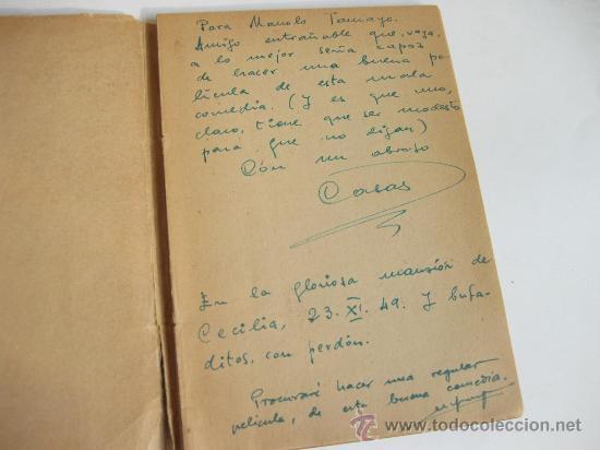 Libros de segunda mano: LA SENDA ILUMINADA - VIZCAINO CASAS - DEDICADA A MANUEL TAMAYO PARA REALIZAR UNA PELICULA - Foto 2 - 24609724
