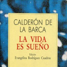 Libros de segunda mano: LA VIDA ES SUEÑO -- CALDERON. Lote 27593438