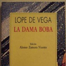 Libros de segunda mano: LA DABA BOBA - LOPE DE VEGA -. Lote 26512272