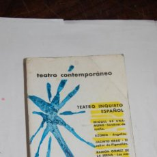 Libros de segunda mano: TEATRO CONTEMPORÁNEO. TEATRO INQUIETO ESPAÑOL. VV. AA. RM51878. Lote 28446652