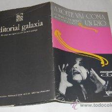 Libros de segunda mano: A NOITE VAI COMA UN RÍO. ÁLVARO CUNQUEIRO, XULIO LAGO (DIR.) RM524191. Lote 28600062