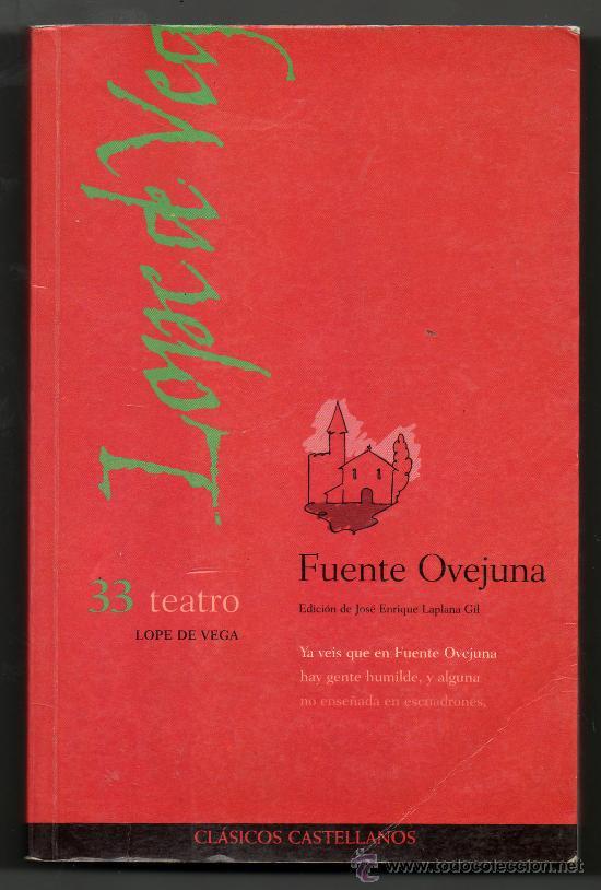 FUENTE OVEJUNA - LOPE DE VEGA (Libros de Segunda Mano (posteriores a 1936) - Literatura - Teatro)