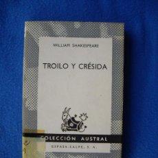 Libros de segunda mano: TROILO Y TRESIDA ( 1972 ) - AUSTRAL Nº 1479 -. Lote 29278785