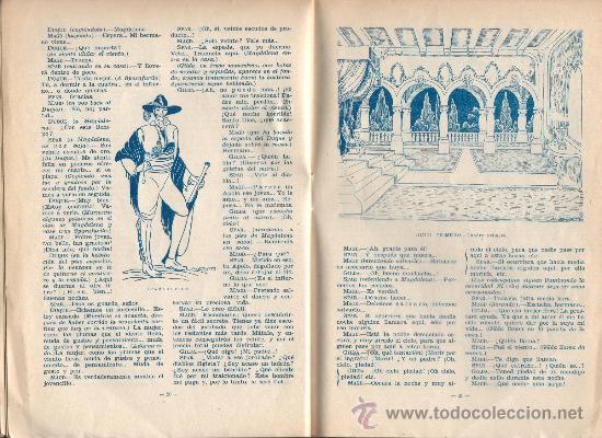 Libros de segunda mano: ÓPERA RIGOLETTO. VERDI, ED. UNIÓN RADIO. 220X150MM. 24 P. ILUSTRADO - Foto 3 - 29282053