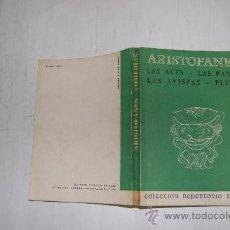 Libros de segunda mano: LAS AVES. LAS RANAS. LAS AVISPAS. PLUTO. ARISTOFANES RM55137. Lote 29320716