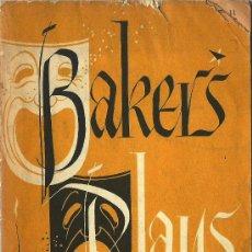Libros de segunda mano: CATÁLOGO TEATRO BACKER´S PLAYS – 1959-60 * BIBLIOGRAFÍA *. Lote 29458124