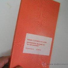 Libros de segunda mano: SOMBRA Y QUIMERA DE LARRA, FRANCISCO NIEVA, FUNDAMENTOS ED,1976, REF TEATRO CO4. Lote 29525911