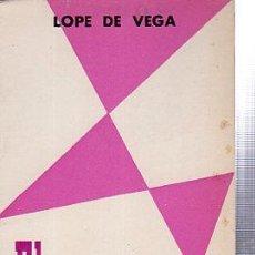 Libros de segunda mano: LOPE DE VEGA, EL RUFIÁN CASTRUCHO, OBRAS DEL TEATRO ESPAÑOL, EDITORIA NACIONAL, MADRID, 1969. Lote 29736189